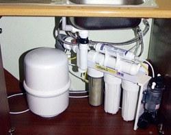 Установка фильтра очистки воды в Кирове, подключение фильтра очистки воды в г.Киров