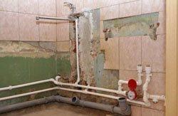 Замена старых труб в квартире, коттедже, на доче, доме, складе, помещении или офисе в городе Киров